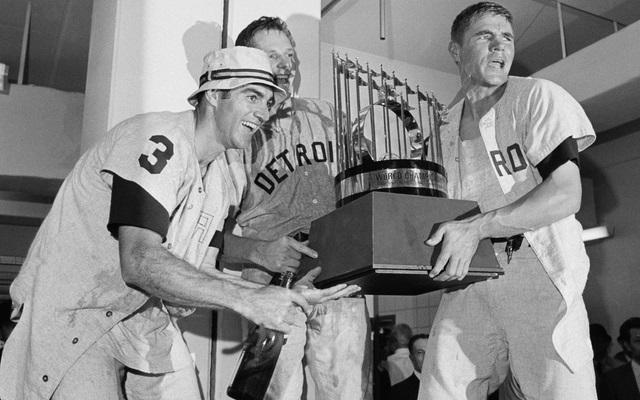 1968 world series trophy detroit tigers