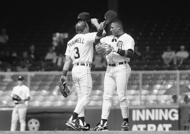 Alan Trammell and Lou Whitaker